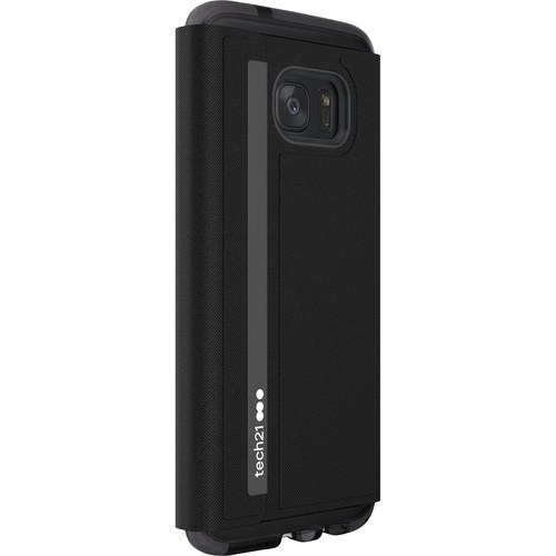 Tech21 Evo Wallet Case for Galaxy S7 edge (Black)