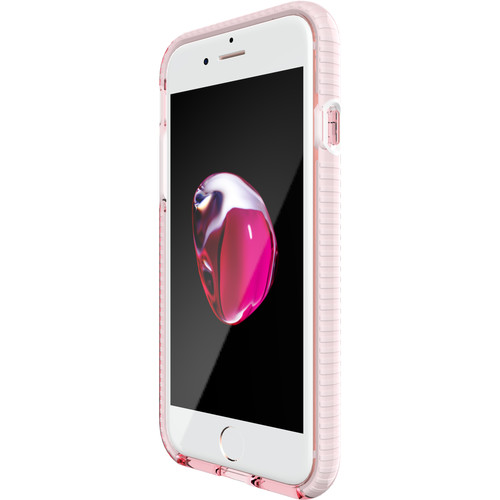 Tech21 Evo Check Case for iPhone 7 (Rose Tint/White)