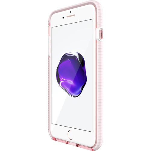Tech21 Evo Check Case for iPhone 7 Plus (Rose Tint/White)