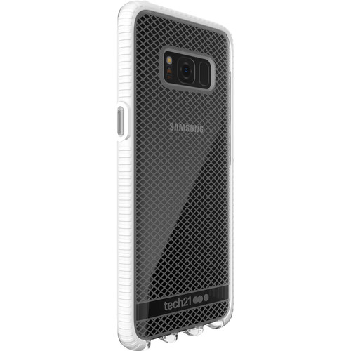 Tech21 Evo Check Case for Galaxy S8 (Clear/White)