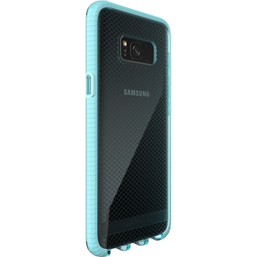 Tech21 Evo Check Case for Galaxy S8+ (Light Blue/White)