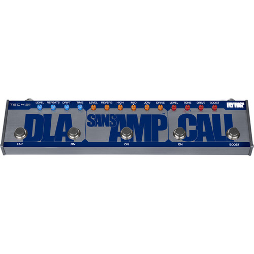 TECH 21 CALI Fly Rig 5 Effects Pedal with Power Supply