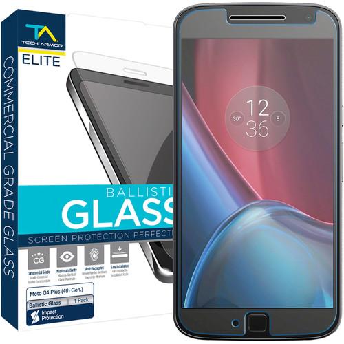 Tech Armor ELITE Ballistic Glass Screen Protector for Motorola Moto G4 Plus (4th Gen.)