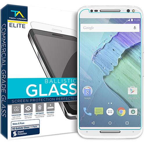 Tech Armor ELITE Ballistic Glass Screen Protector for Motorola Moto X Pure (4th Gen.)