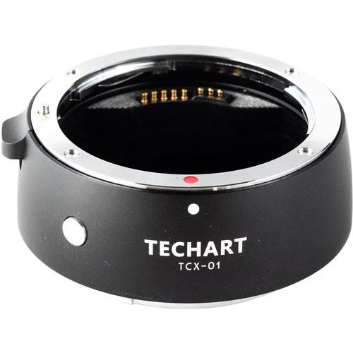 Techart PRO Canon EF Lens to Hasselblad X Camera Autofocus Adapter