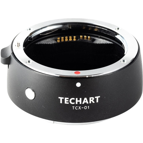 Techart PRO Autofocus Adapter for Canon EF Lens and Hasselblad X1D Camera