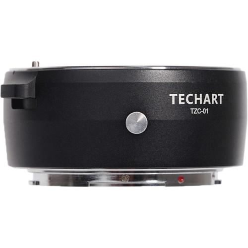 Techart PRO Autofocus Adapter for Canon EF-Mount Lens to Nikon Z-Mount Camera