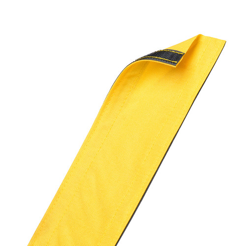 "Techflex Dura Race Carpet-Mount Cable Sleeving (4"" Width, 6' Length, Yellow)"