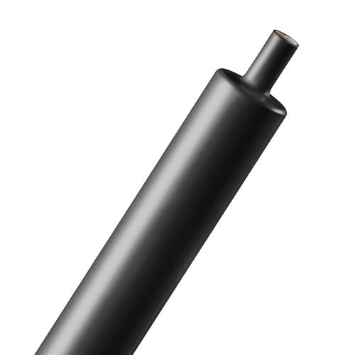 "Techflex 3:1 Adhesive Shrinkflex Tubing (0.75"" Diameter, 3"" Length, Set of 4, Black)"