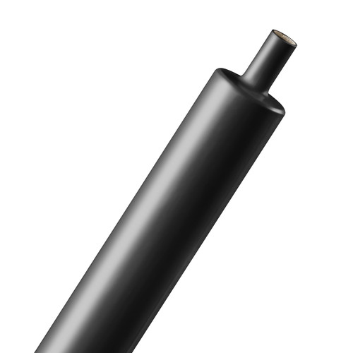 "Techflex 3:1 Adhesive Shrinkflex Tubing (1"" Diameter, 3"" Length, Set of 4, Black)"