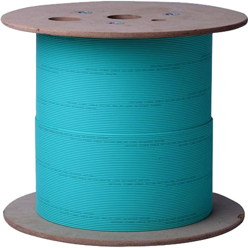 TechLogix Networx OM3 50/125 SSF Duplex 3mm Plenum-Rated Fiber Bulk Cable (1000')
