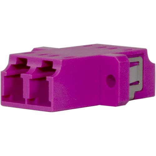 TechLogix Networx OM4 LC to LC Duplex Multimode Fiber Optic Coupler