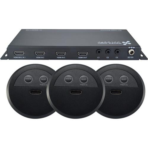 TechLogix Networx Show-Me Switcher Kit (3 x HDMI)