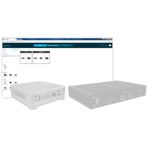 TechLogix Networx TLXpress Software Server for IPFO-Series AV-over-IP Devices