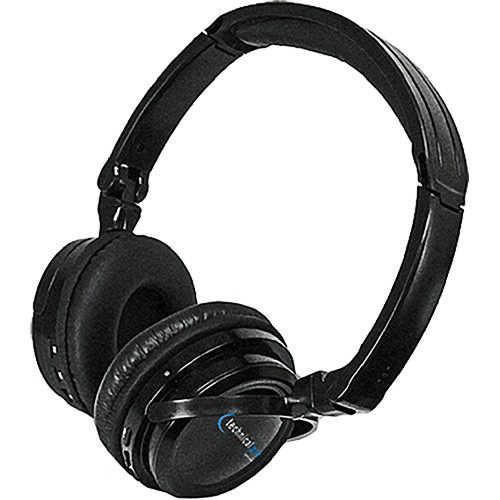 Technical Pro HP500BT Bluetooth Headphone with Built-In Mic (Black)