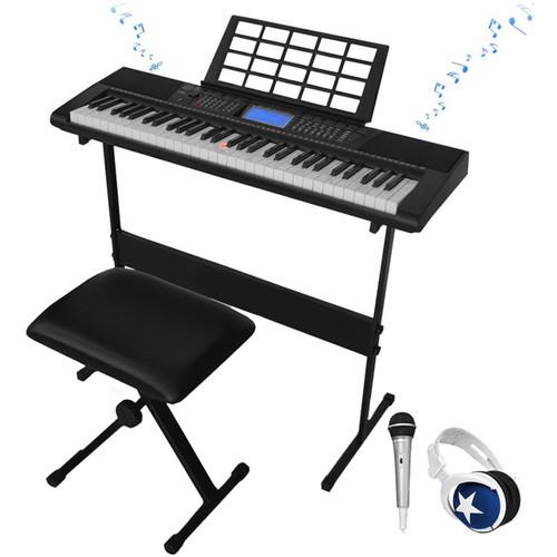 Technical Pro PIA6100 61-Key Learning Keyboard Bundle
