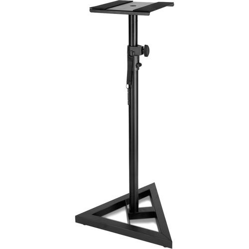 Technical Pro PTM3 Triangular Base Speaker Stands (Pair, Black)