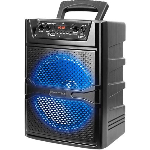 "Technical Pro PVOLT8 8"" Bluetooth LED Speaker"