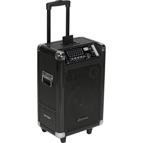 "Technical Pro WASP1050UIBT 10"" Portable PA System with Wireless Microphone"