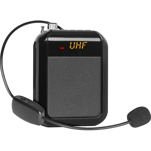 Technical Pro WASP200U Rechargeable Speaker with Wireless UHF Headset Mic
