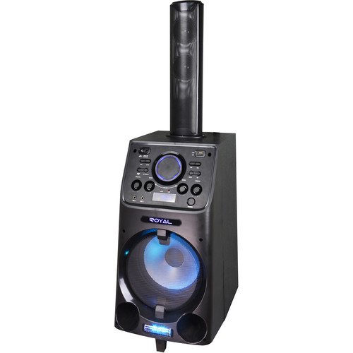 """Technical Pro WASP2 10"""" Portable Battery-Powered PA System with Wireless Handheld Microphone"""