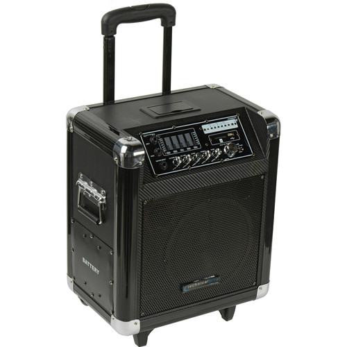 "Technical Pro WASP800UIBT 8"" Portable PA System"