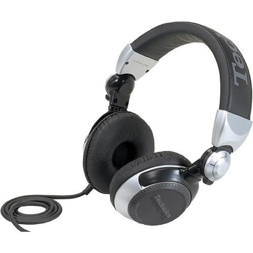 Technics RP-DJ1205-S DJ Headphones (Silver/Black)