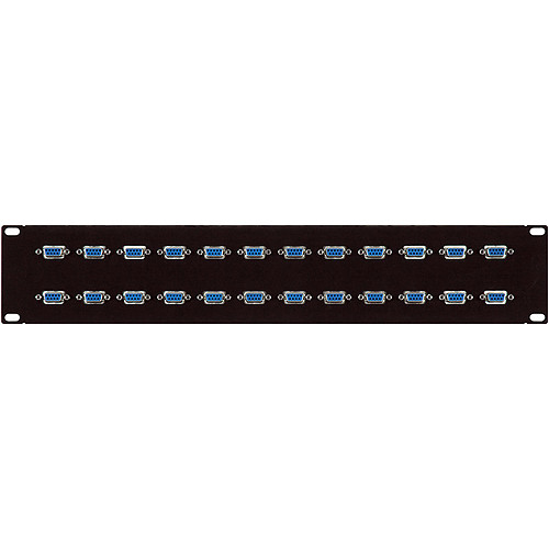 TecNec 12-Point 9-Pin Sub-D Male Patch Bay