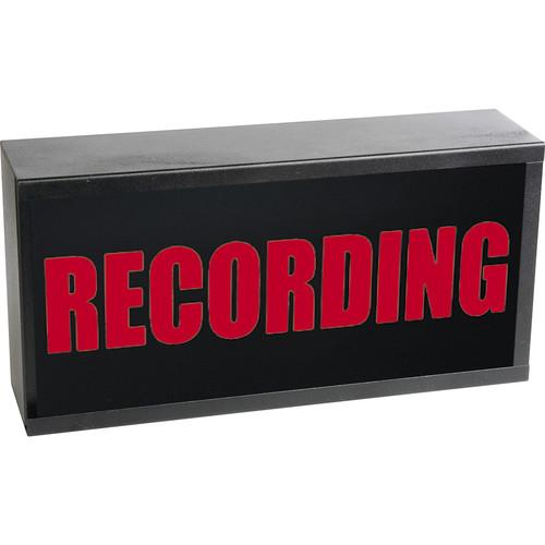 TecNec Industry-Standard Warning Light (Recording, 24 VDC)
