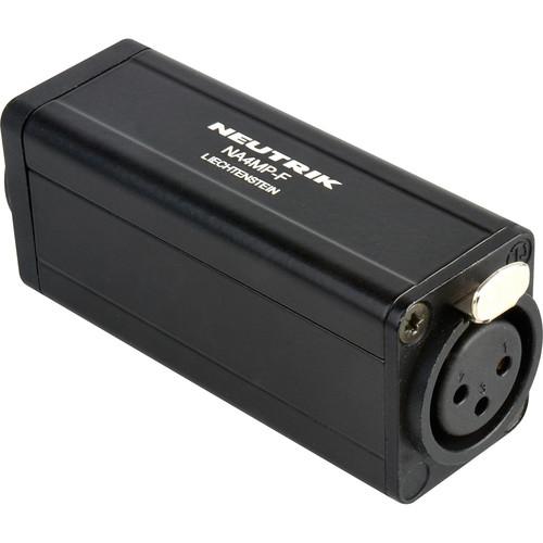 TecNec Neutrik Speakon D to 3-Pin XLR Female Adapter