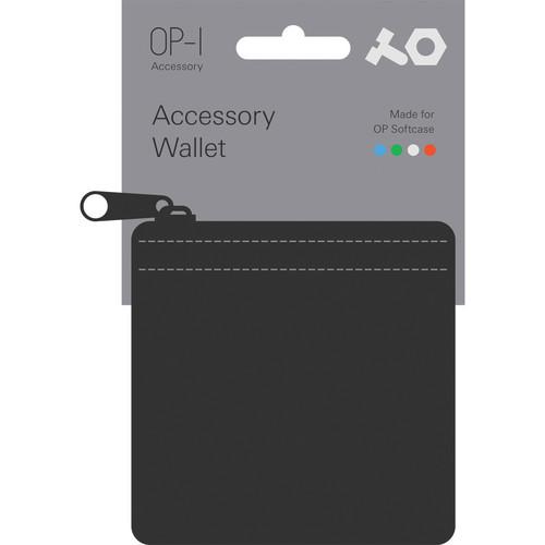 Teenage Engineering Accessory Wallet for OP-1 Accessories (Black)