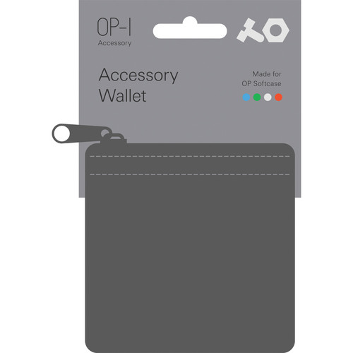 Teenage Engineering Accessory Wallet for OP-1 Accessories (Gray)