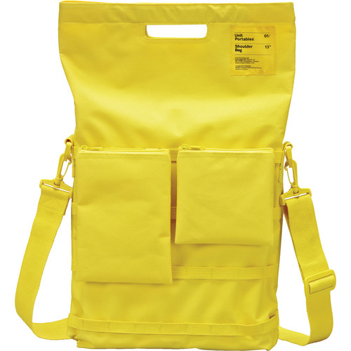 teenage engineering Unit Portables Laptop Bag (Yellow)