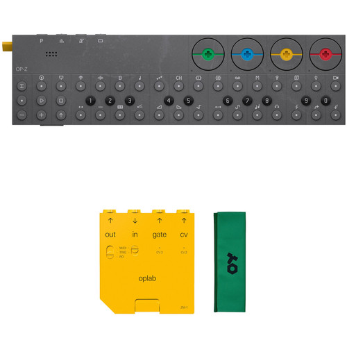 teenage engineering OP-Z Synthesizer and oplab Module Kit with Protective Bag