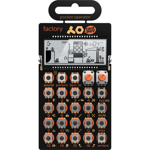 Teenage Engineering Pocket Operator Kit with PO-16, PO-24, PO-12, and a Free PO-14