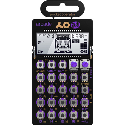 Teenage Engineering Pocket Operator Kit with PO-20, PO-28, PO-16, and a Free PO-12