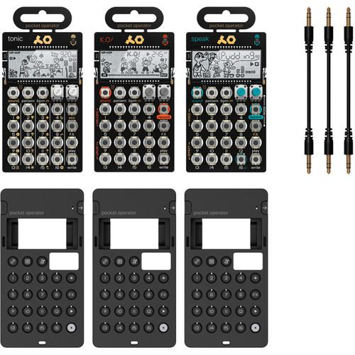 teenage engineering PO-30 Metal Series Pocket Operators Super Set