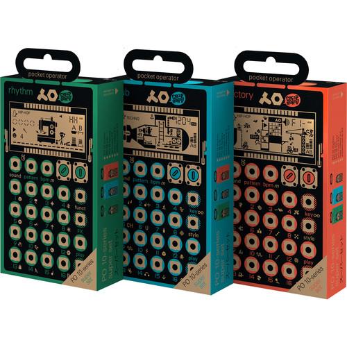 teenage engineering Holiday 2015 Pocket Operator Bundle