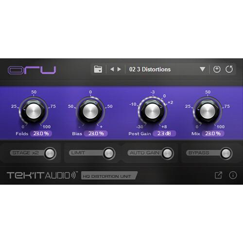 Tek'it Audio Oru - Wavefolder Distortion Plug-In (Download)