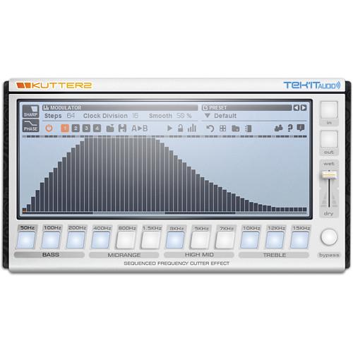 Tek'it Audio Kutter 2 - Frequency Cutter Sequencer Plug-In (Download)