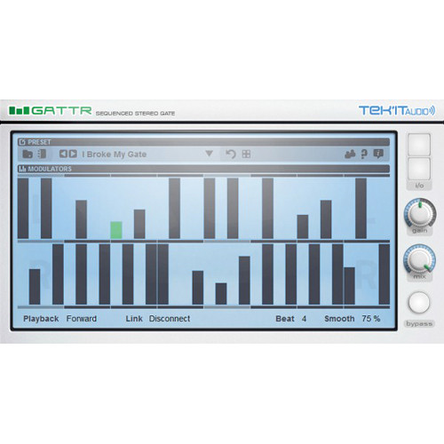 Tek'it Audio GattR - Stereo Gate Effect Sequencer (Download)