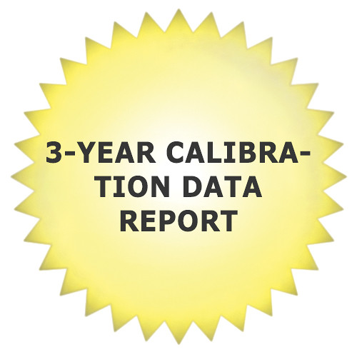 Tektronix 3-Year Calibration Data Report for ECO8000 Automatic Changeover Unit