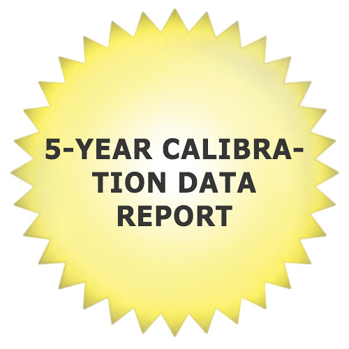 Tektronix 5-Year Calibration Data Report for ECO8000 Automatic Changeover Unit