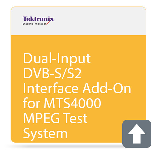 Tektronix Dual-Input DVB-S/S2 Interface Add-On for MTS4000 MPEG Test System