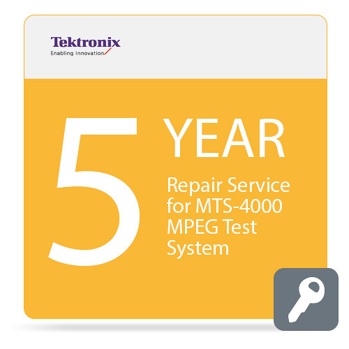 Tektronix Repair Service for MTS4000 MPEG Test System (5-Year)