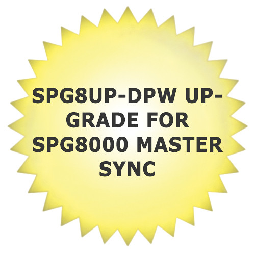 Tektronix SPG8UP-DPW Upgrade for SPG8000 Master Sync/Master Clock Reference Generator