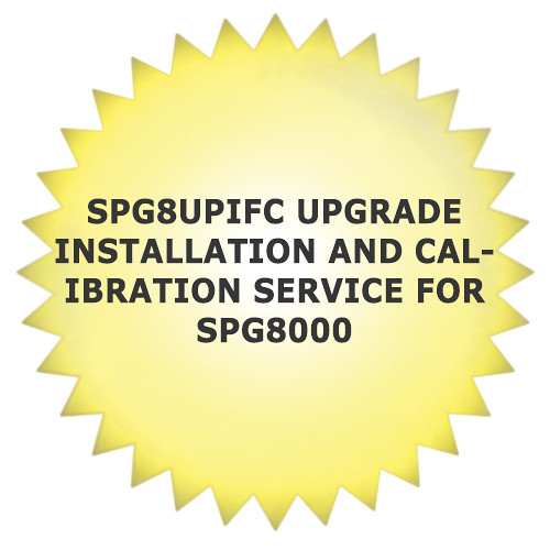 Tektronix SPG8UPIFC Upgrade Installation and Calibration Service for SPG8000