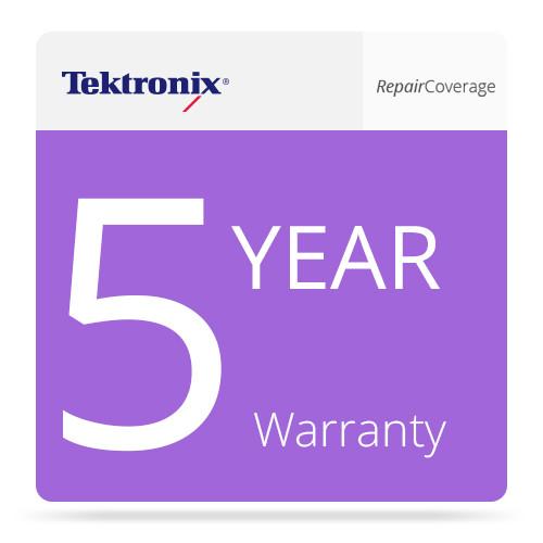 Tektronix 5-Year Repair Warranty Coverage for TG8000 Multi-Format Video Generator
