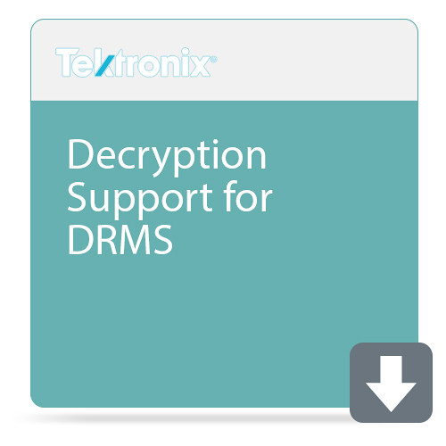 Tektronix Decryption Support for DRMS