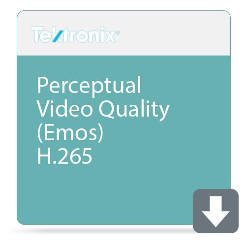 Tektronix Perceptual Video Quality (Emos) H.265